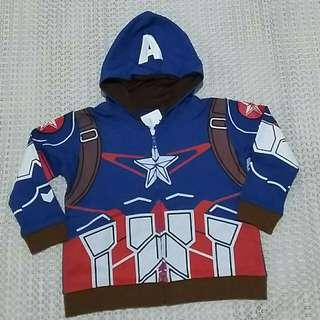 NEW Jacket Anak - Capt America