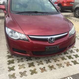 Honda Civic 1.6 whole spare parts available