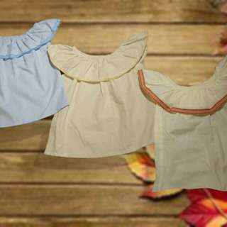 Summer casual blouses for girls
