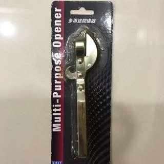 Multi purpose opener