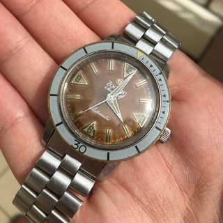 [SOLD] Tropical Zodiac Seawolf No Date