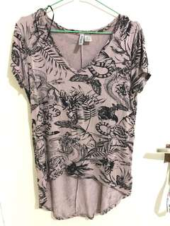Atasan H&M size XS fit to S