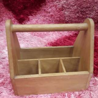 Basket ikea teakwood