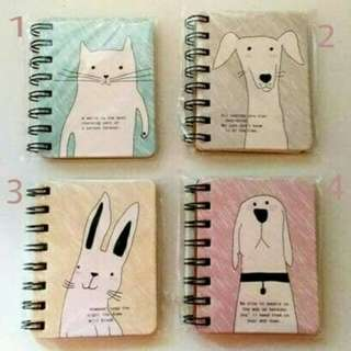 Ring notebook