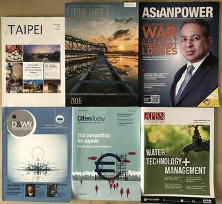 Water Magazines