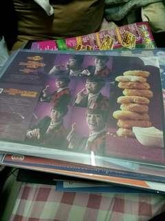 快餐文化特色餐紙2張