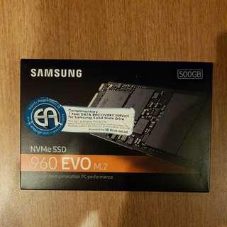 Samsung NVMe SSD 960 Evo