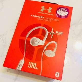 Under Armour x JBL heart rate sport wireless headphones 無線耳機