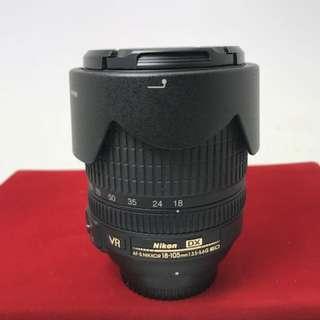 Nikon 18-105 F3.5-5.6