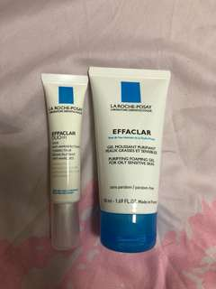 Effaclar duo and foaming gel
