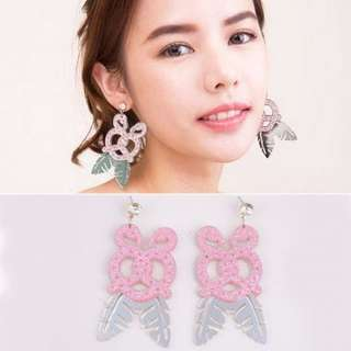 Earring /Anting flamingo