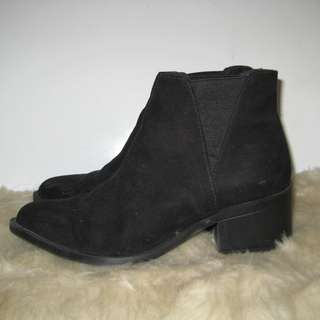 H&M Divided Suede Boots