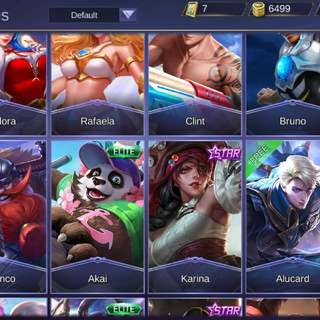 Mobile Legend Account Selling Cheap