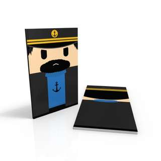 Captain Haddock - Tin Tin notebook