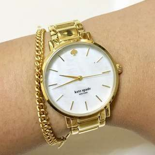 Authentic Kate Spade Gold Watch