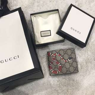 Authentic Gucci Men Wallet