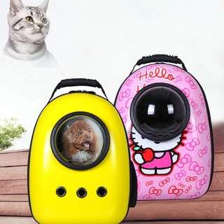 DP雜貨鋪 寵物用品 太空艙寵物背包 多款任選 貓狗外出包提籠 馬爾濟斯/貴賓/博美/吉娃