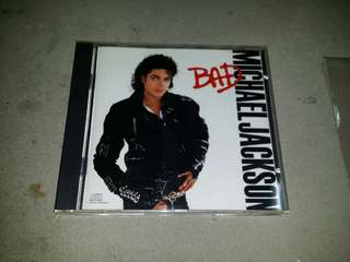 Michael Jackson - Bad CD ( 1987 Usa press )