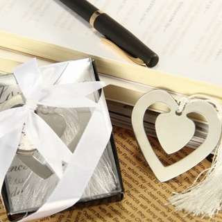 Wedding Door Gifts - Heart Bookmark