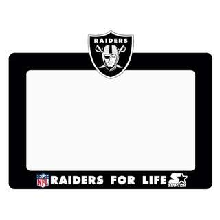 Road Tax Sticker Raiders For Life Starter NFL