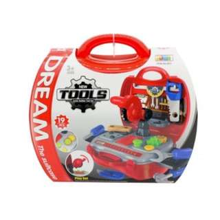 Dream The Suitcase Tools Junior Builder Toy