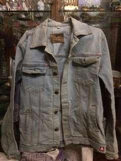 jaket jeans dilan 1990