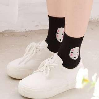 spirited away - no face socks