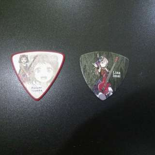 BanG Dream! Guitar Picks