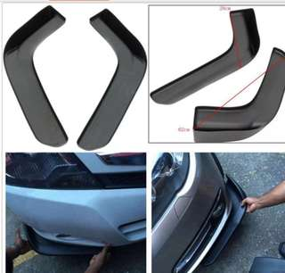 1 pair of front bumper front shovel decorative  wing