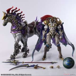 預訂 7月 日版 SQUARE ENIX FINAL FANTASY 最終幻想 CREATURES - BRING ARTS: ODIN ACTION FIGURE
