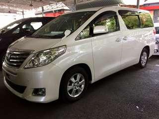 Toyota Alphard 2.4 X-Pack 2013 unreg