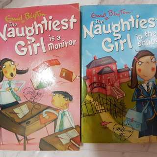 Naughtiest girl series