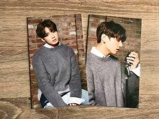 [1 Set] BTS Jungkook Mediheal Postcards