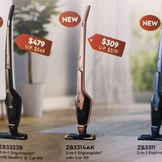 Electrolux brand new 18 v cordless vacuum