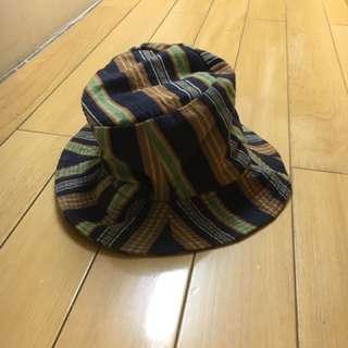 古著 條紋 漁夫帽
