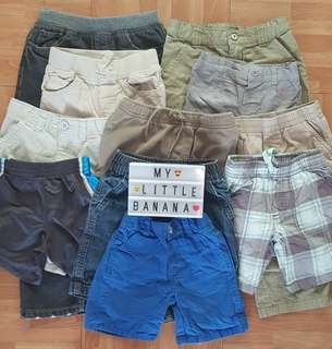 Pants and shorts for boys