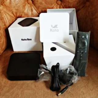 KATA BOX 1 MAKE Your ordinary tv turn into a smart tv.
