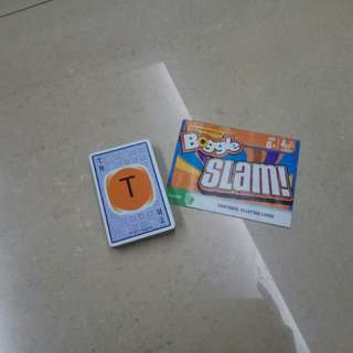 Boggle Slam! - Card Game