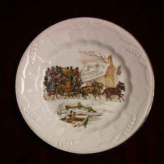 Royal Crowndford Ironstone plate ( England )