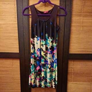 Brown Dress (knee length)