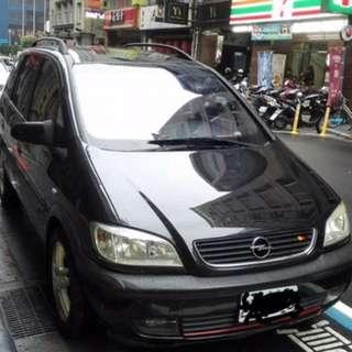 歐寶 Opel Zafira2.2