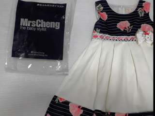 Girls dress 4-5years