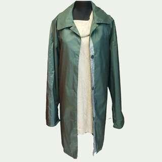 Metallic green coat