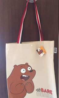 Totebag We Bare Bears Grizz
