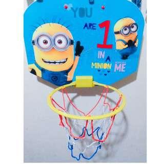 DespicableMe Minion Adjustable Basketball Board