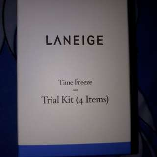 Laneige Time Freeze Trial Kit(4 Items)