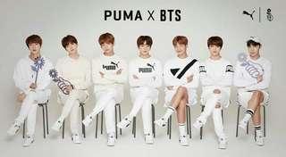 BTS X Puma Court Star Sneakers