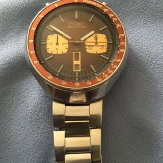 Seiko watch Bullhead