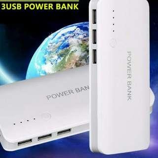 3-USB Power Bank