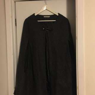 Wool Cape — Size M